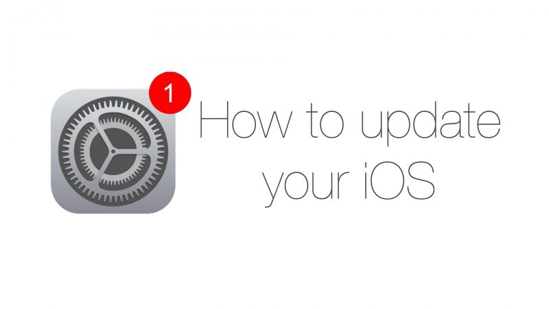 How to update your iOS