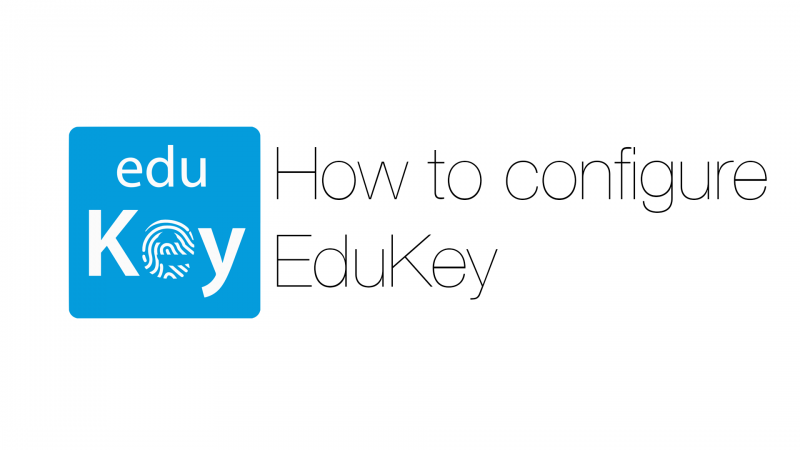 How to configure EduKey